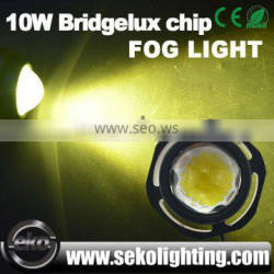 Latest technology led bulb cars 1000LMS 12V 24V DRL 10W car led eagle eye light