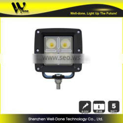 Factory Direct Offer Light Dancer IP68 Waterproof C ree 20W car racing LED work light
