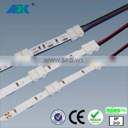 10mm RGB 5050 SMD Waterproof LED Light Strip Flexible connector +Two Outputs 44k IR Remote
