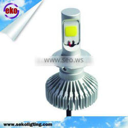 Super Bright White 24W 3000LM H7 LED Headlight 6000K High or Low Beam Bulb