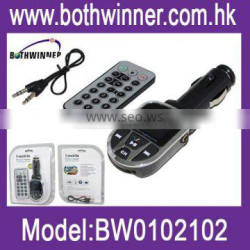 Bluetooth car mp3 player with FM transmitter
