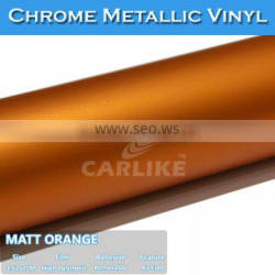 CARLIKE Chrome Ice Film Car Color Change PVC Color Film For Car Wrapping