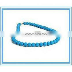 silicone bead necklace for women