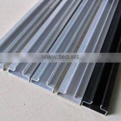 quality Aluminium extrusion profile Aluminum extrusion profile of card slot with all kinds of surface finish