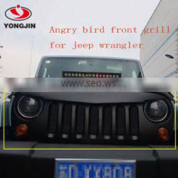 ABS Material off road Car Grill Front Bumper Grille for Jeep wrangler JK