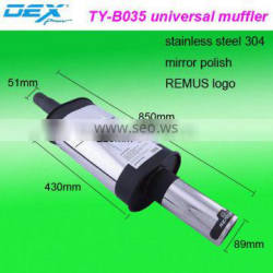auto parts tuning stainless steel exhaust muffler tip