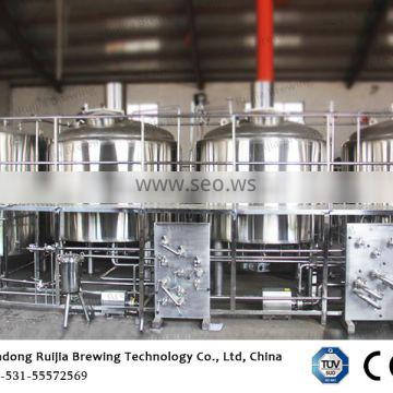 2000L beer brewing equipment mash tun and brewery plant