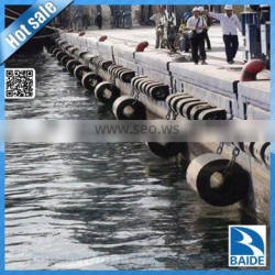 Factory price cylindrical rubber fender