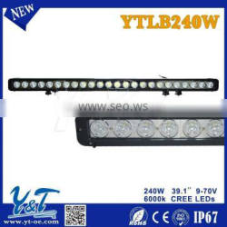 """39.1"""" 240W dual row led off road lighting bar with high power suer bright"""