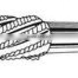 taper shank milling cutter with high precision