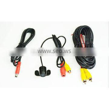 170 degree wide angle rear view camera with parking guide lines