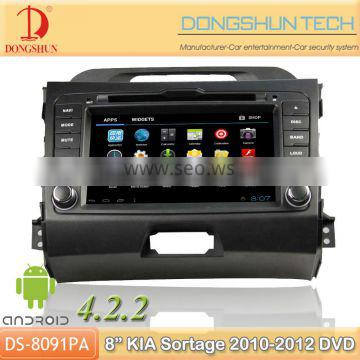 """7"""" Sportage 2010-2012 Pure android 4.2.2 car DVD with GPS 3G/WIFI"""