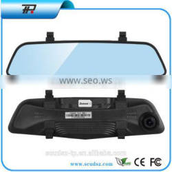 Touch screen meshDual lens vehicle hd dvr with car dvr rearview mirror1080PTouch screen mesh