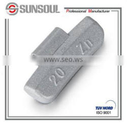 For Steel Rim Zn Plated Wheel Weight
