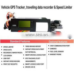 GPS speed limit device tracker, top gps tracking chip data recorder