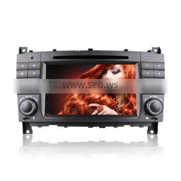 Winmark Newest Android 5.1 Car Radio DVD Player GPS 7 Inch 2 Din For Mercedes-Benz CLC Class CLC W203 2008-2010 DU7069