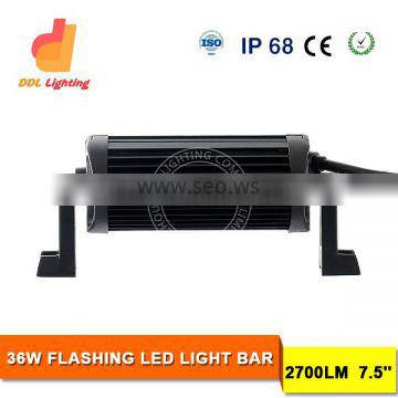 ce rohswaterproof white/amber color changing led light bar with wireless reomote control