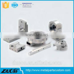 CNC machining machinery spare parts from china supplier