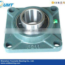 Stainless steel pillow block bearing UCF210 with conveyor