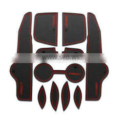 car accessories non-slip interior door mat for Toyota Corolla 2007-2013 11pcs/set