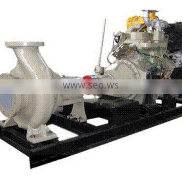 water cooled in line 4 stroke wet cylinder liner direct injection water pump genset
