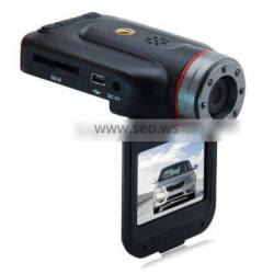China manufacturer 2inch super wide-angle IR lights vehicle car camera dvr video recorder with g-senso