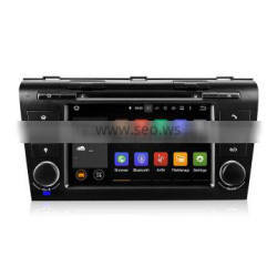 Winmark Newest Android 5.1 7 Inch 2 Din Car Audio DVD Player Stereo Quad Cord GPS BT Radio RDS TV For Mazda 3 ( 2004-2009 ) 7095