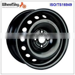 15x6.0 4x100 Car Steel Wheel Rims