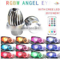 2016 Hot selling RGB 5050 remote control full circle rgb angel eye