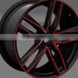 forged alloy wheels blank wheel rims for hot sales 18 inch wheel