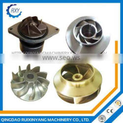 Customized high quality precision casting metal pump impellers