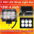 Top quality Waterproof spot Truck lamp 18W spot Bus lamp high quality with 1 year warranty