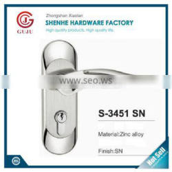 hot sell 2016 American style Lower price Keyed Entry Satin Stainless Steel cylindrical knob lock
