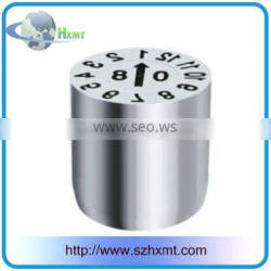 high quality mold parts metal number date stamp