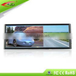 Hot!!! Wholesale price for 7 inch TFT LED Rearview mirror monitor with High Resolution, 2 ways input auto switch when reverse
