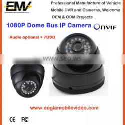 1080P Night Vision Dome Bus Security IP Camera