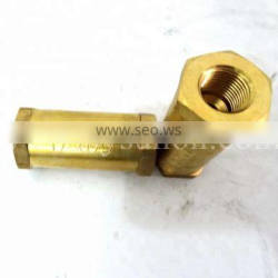 Manufacturer in China of One Way Brass Check Valve 178079 212255 NT855