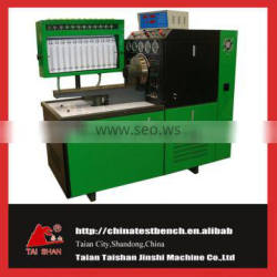 Big power frequency digital and computer control 12 cylinder diesel pump test bench