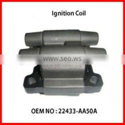 Good Quality auto Ignition Coil for OEM # 22433-AA50A