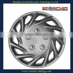 plastic silver 14 inch wheel cover for bus