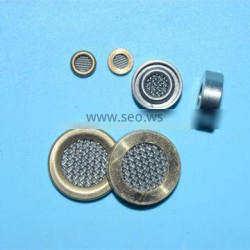 silver stainless steel filter disc/disc type filter element