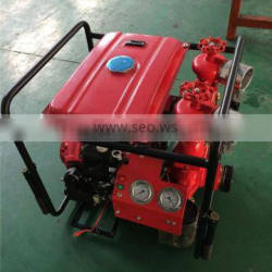 High flow fire fighting pump with 2-outlets BJ-20A