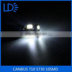 CANBUS T10 5730 smd 10 leds Led Car dome Light