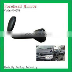 toyota body parts #000559 toyota hiace forehead mirror black front mirror for hiace