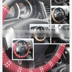 Car steering wheel cover and the automobile
