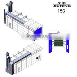 Wholesale life long maintenance service provided durable truck paint baking oven