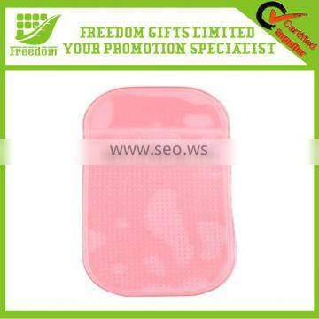 Promotional Jelly Colored Customized Anti Slip Phone Pad