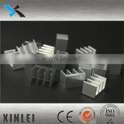 2016 China factory supply extrusion profile Heat Sink 10X16X10MM