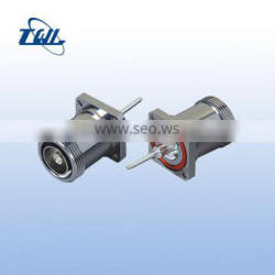7/16 Din Type RF coaxial connector for 7/8'' flexible cable Low Pim manufacture mini din