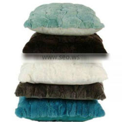 Colorful Winter Mongolian Fur Body Pillow Covers For Christmas Decoration